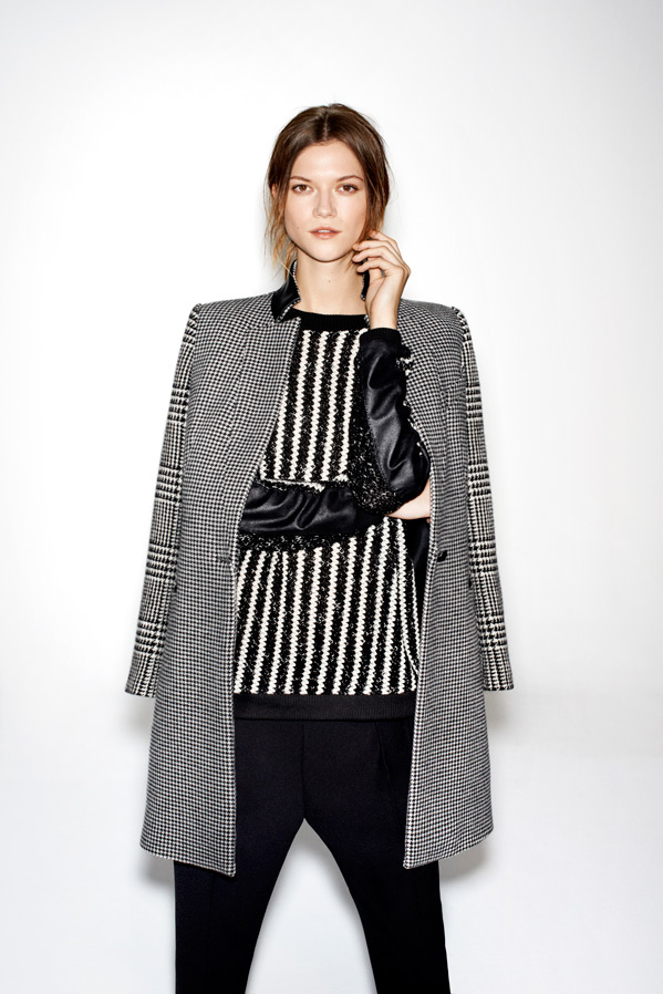 zara19 Kasia Struss Models Zaras December 2012 Lookbook