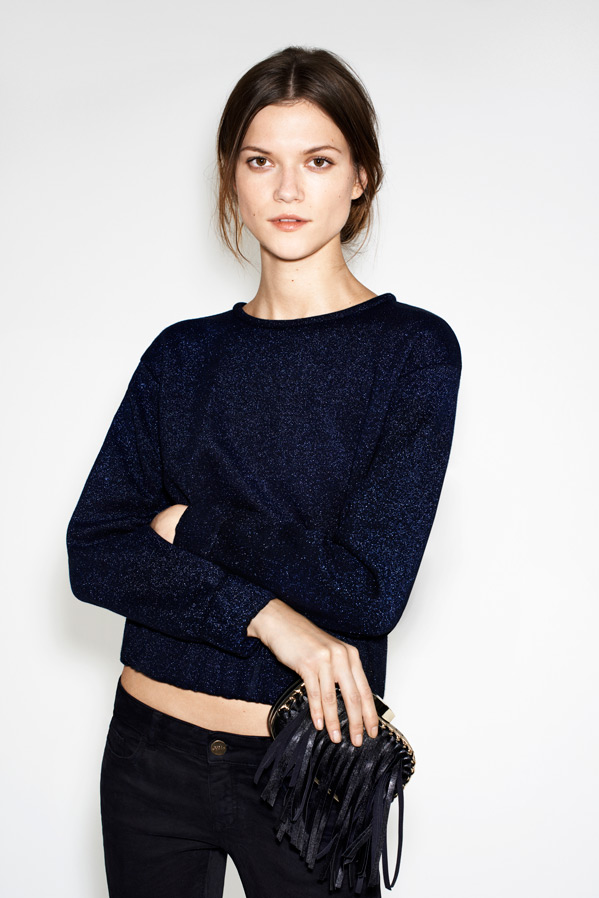 zara2 Kasia Struss Models Zaras December 2012 Lookbook