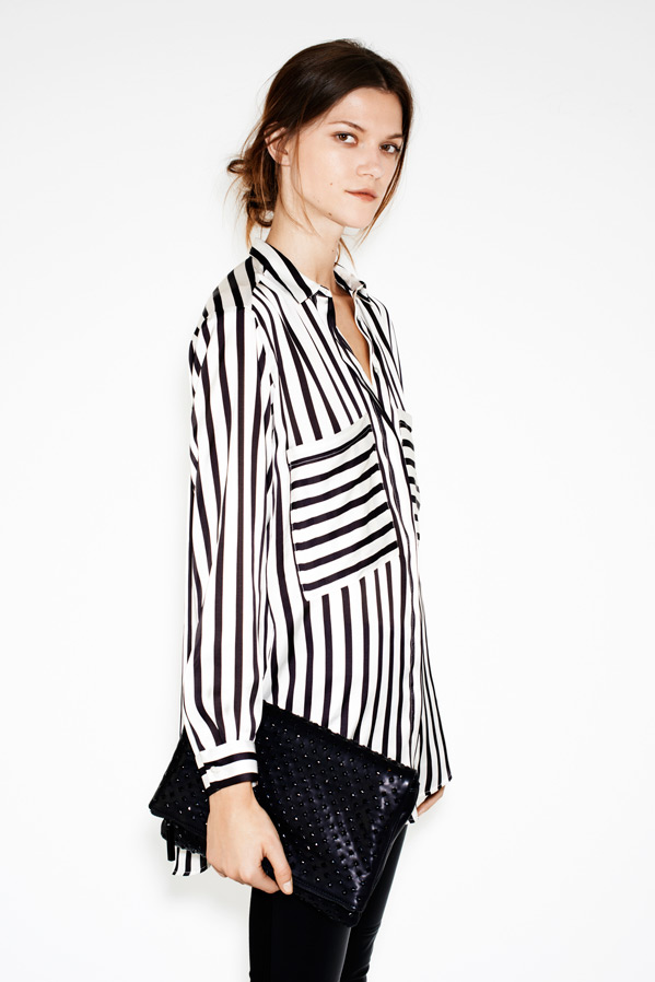zara6 Kasia Struss Models Zaras December 2012 Lookbook