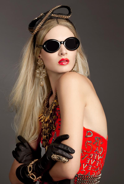 gloss1 Виктория Sekrier Rocks Роскошный стиль для блеска Словения Дженни Brough