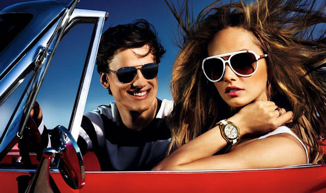 mk2 Karmen Pedaru Lives Life in the Fast Lane for Michael Kors Spring 2013 Campaign