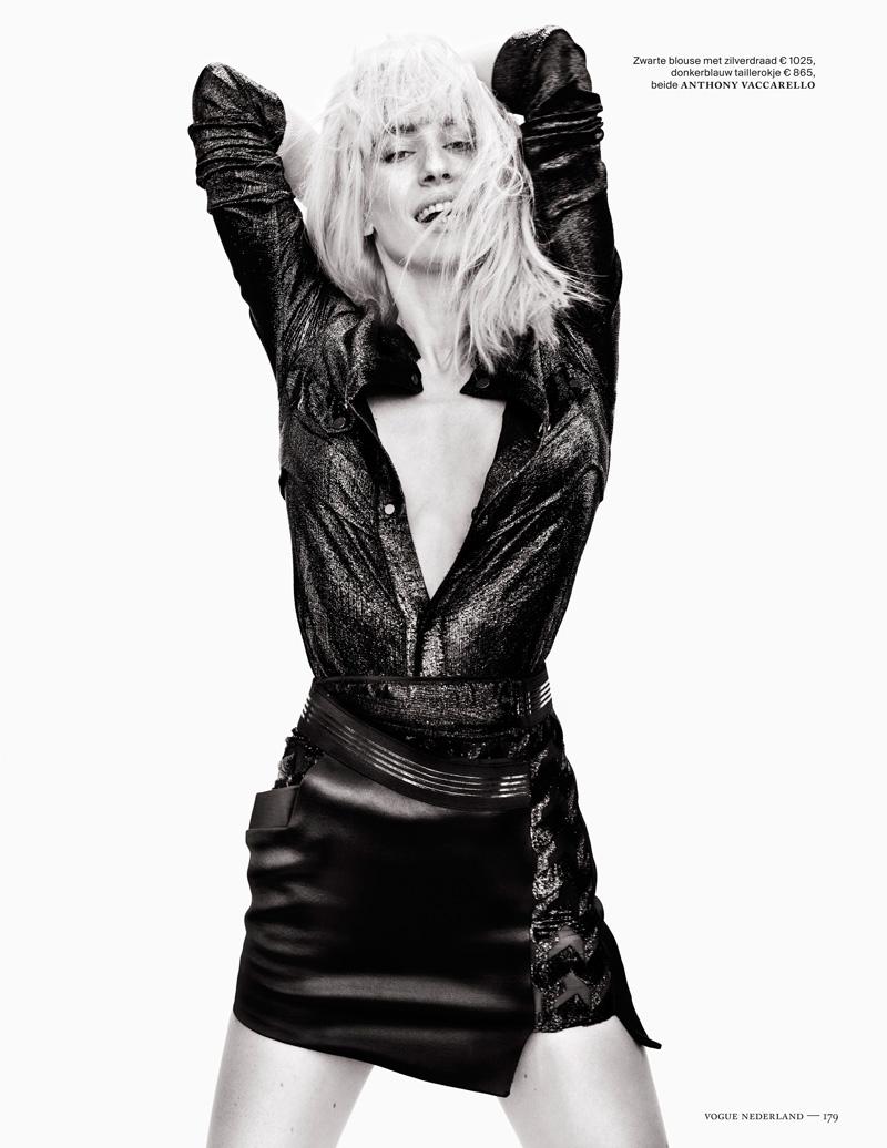 Наташа Наташа vojnovic6 Войновича Позы для Марк де Гроот в Vogue выпуск Нидерланды декабря