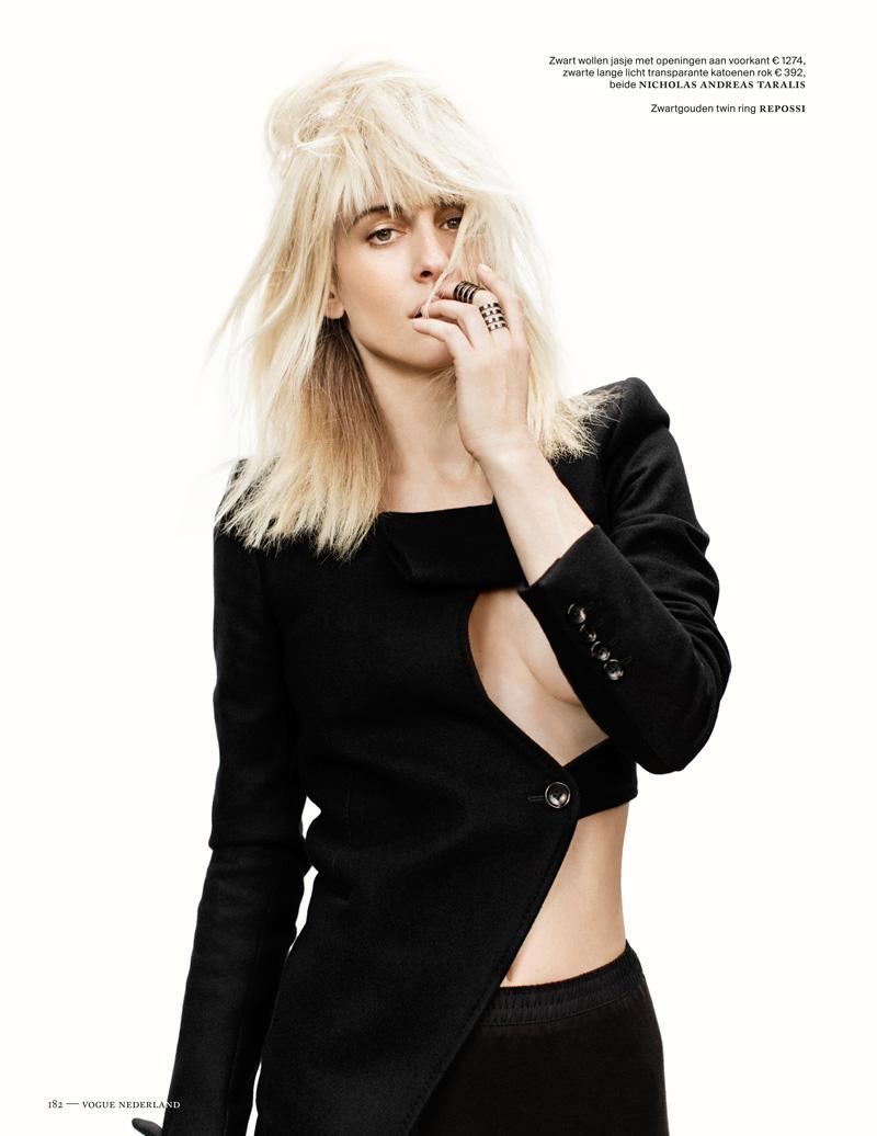 Наташа Наташа vojnovic9 Войновича Позы для Марк де Гроот в Vogue выпуск Нидерланды декабря