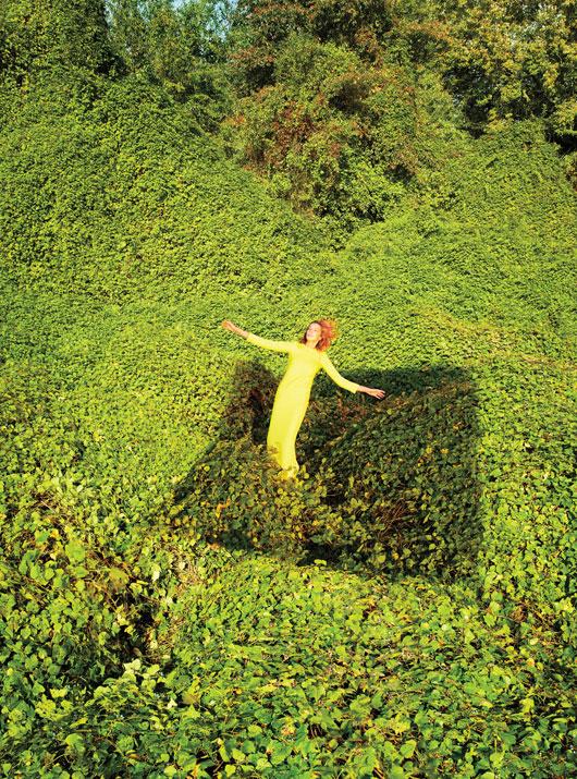 DariaEarthW2 Daria Werbowy это рай на земле для W Выпуск журналы январе Райан МакГинли