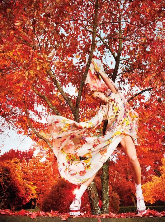 DariaEarthW5 Daria Werbowy это рай на земле для W Выпуск журналы январе Райан МакГинли