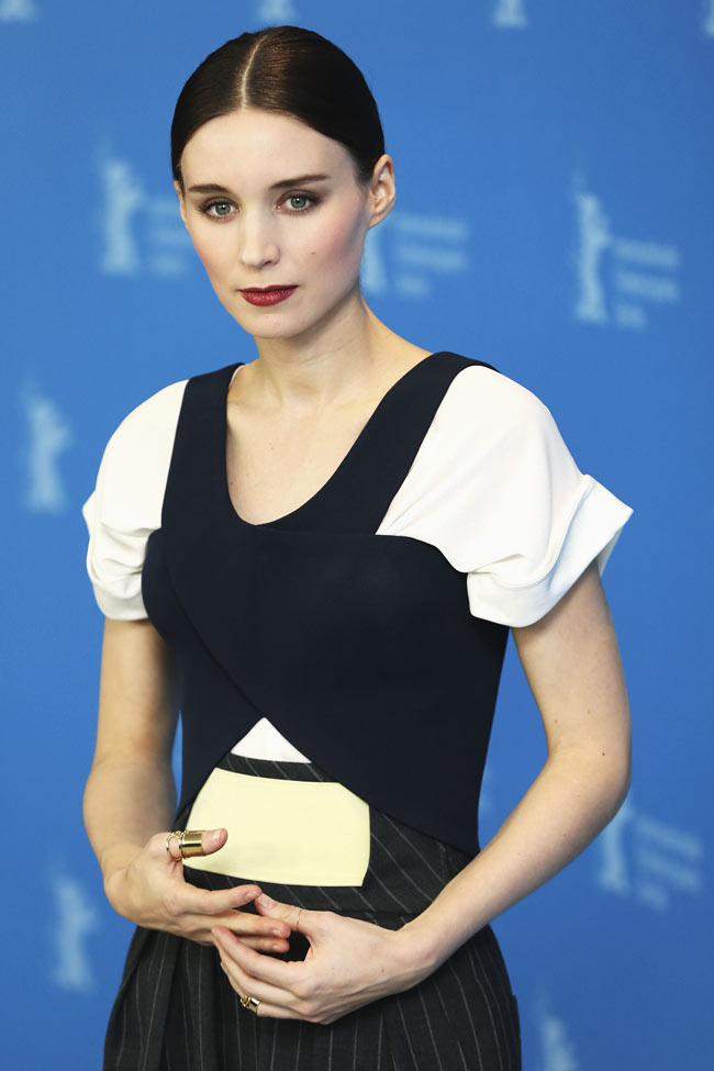Rooney Mara In Balenciaga At The Quot Side Effects Quot Berlin