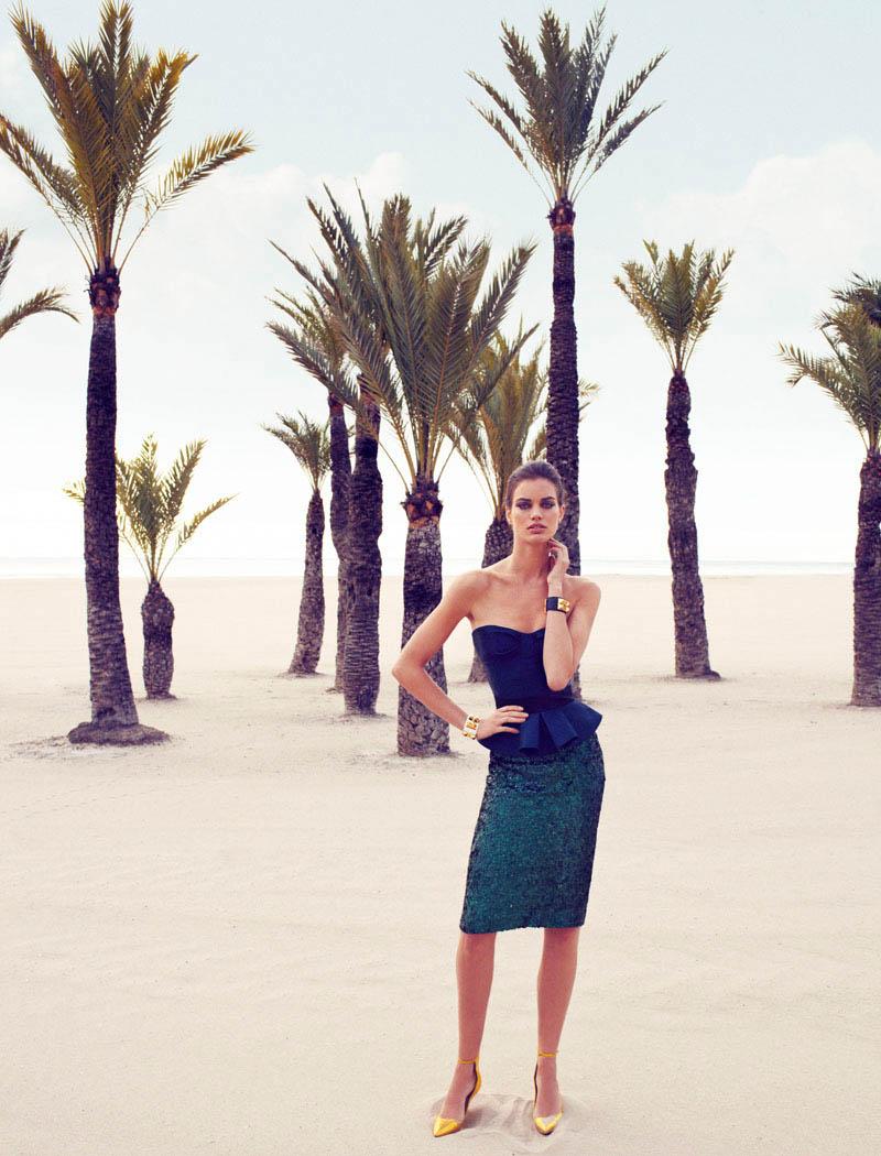 rianne ten haken elle spain3 Rianne ten Haken Poses for Xavi Gordo in Elle Spains March 2013 Cover Shoot