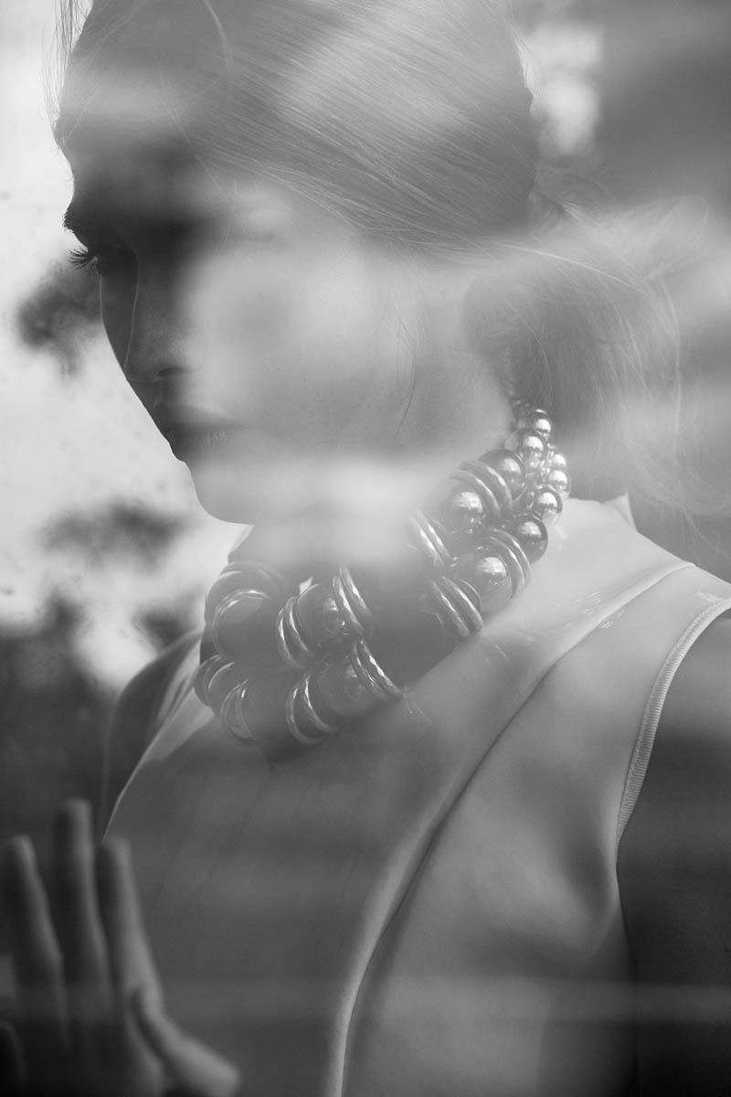 Dafne cejas5 Dafne Cejas från Josefina Bietti i svartvitt för Fashion Gone Rogue