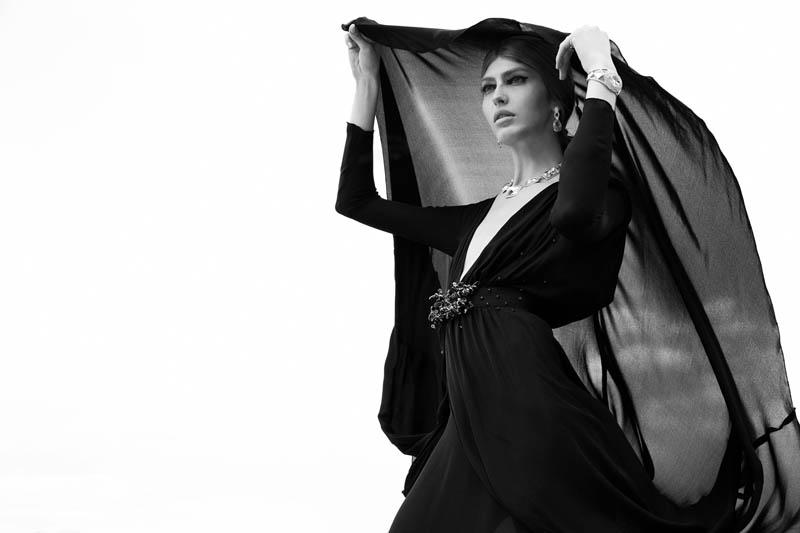Dafne cejas7 Dafne Cejas från Josefina Bietti i svartvitt för Fashion Gone Rogue
