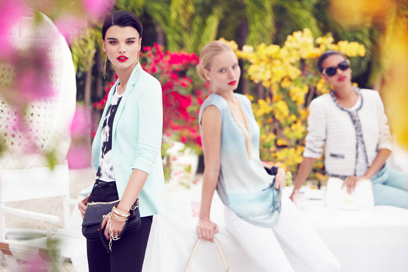 mMax Abadian Crystal Renn Chateau1 Crystal Renn Fronts La Chateau Spring 2013 Campaign by Max Abadian