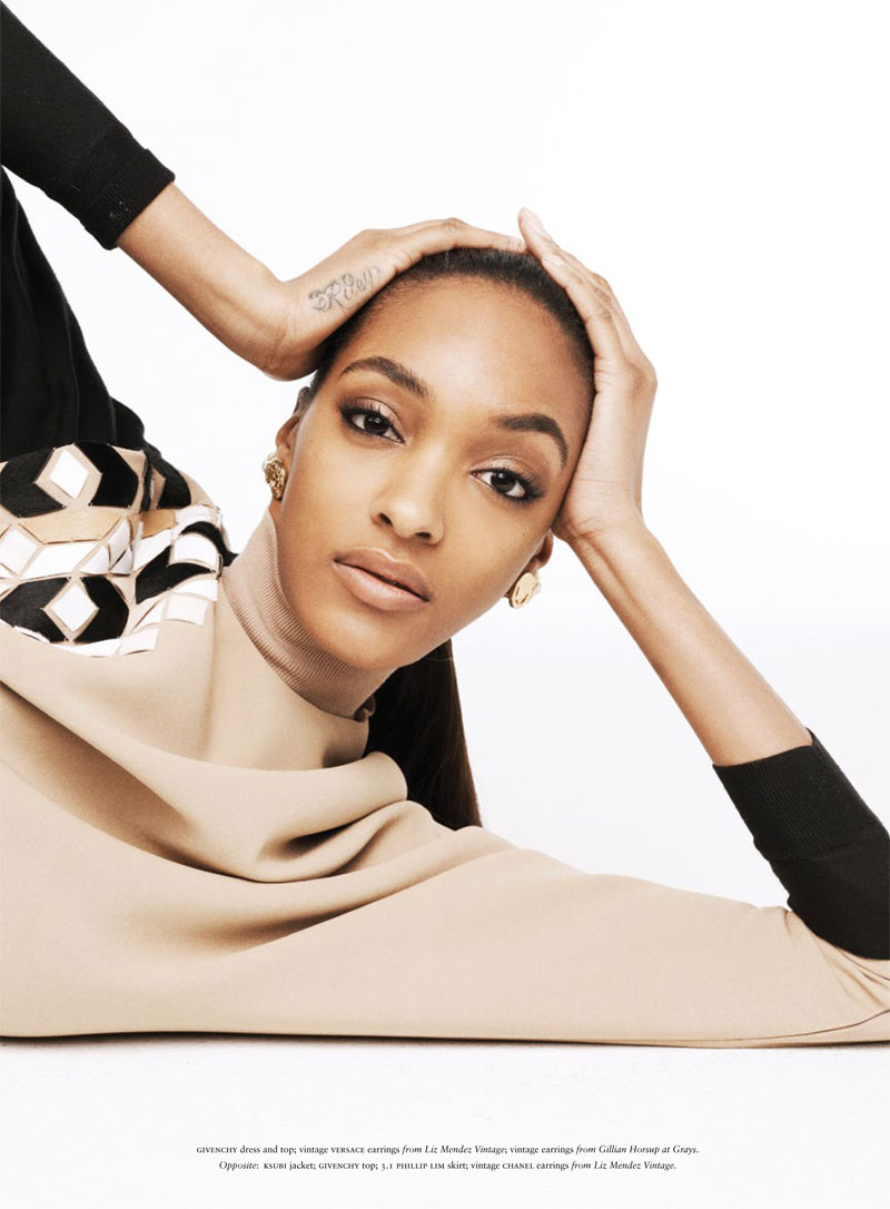 Jourdan Dunn is the Star of Russhs JuneJuly 2013 Cover Shoot
