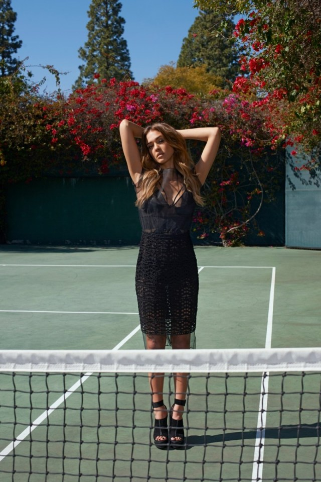 Jessica Alba za The Sunday Times Style