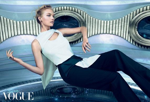 Gemma Ward Stars On Vogue Australia December 2014 Cover