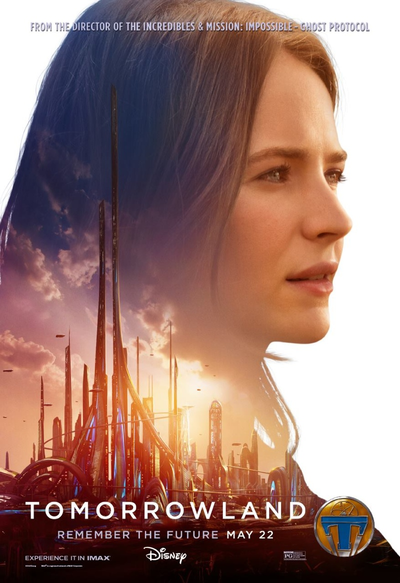 Tomorrowland Movie Posters With Britt Robertson