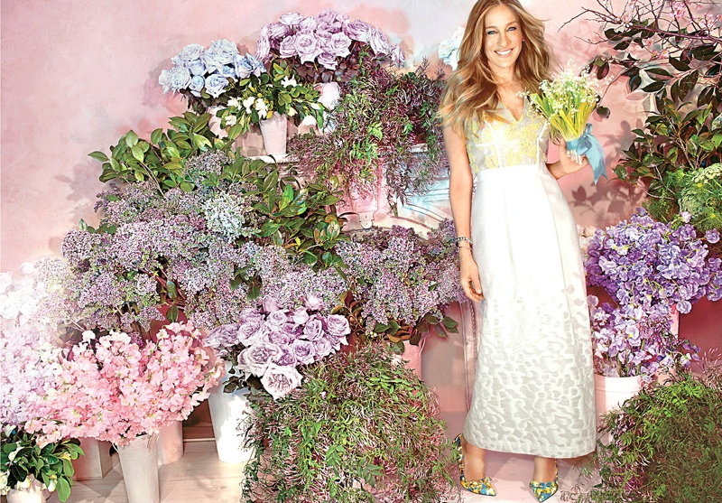 Sarah Jessica Parker Stars In Martha Stewart Weddings