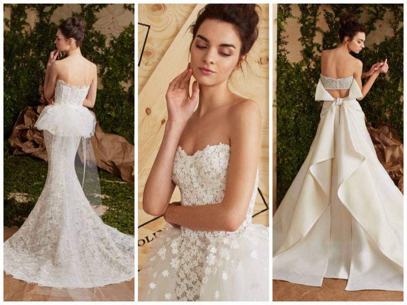 Carolina Herrera Bridal 2017 Spring Wedding Dresses