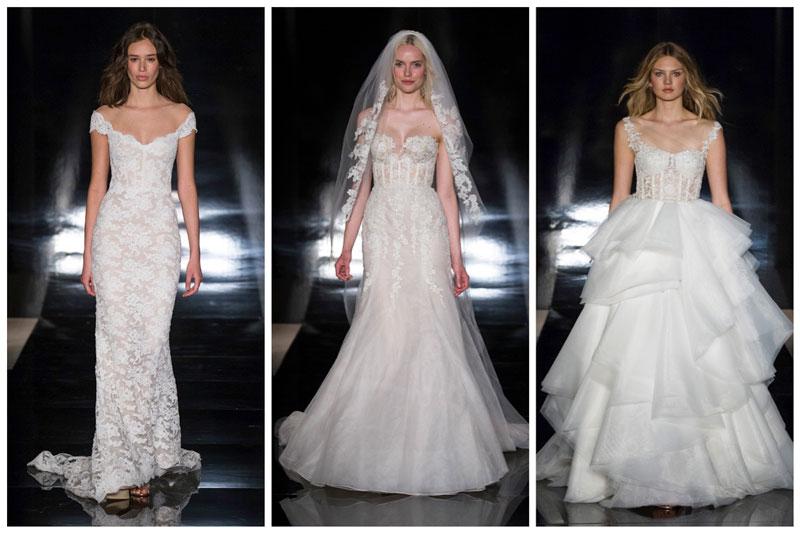 Reem Acra Bridal 2017 Spring Wedding Dresses