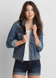 eagle american denim jacket summer casual embraces