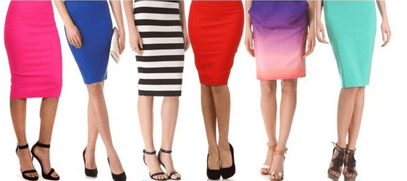 5 accessories to go with your favourite pencil skirt