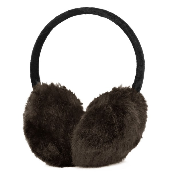 Women Ladies Earmuffs Winter Faux Fur Fluffy Fleece Hair