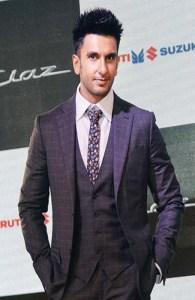 Ranveer Singh Short Hairstyle