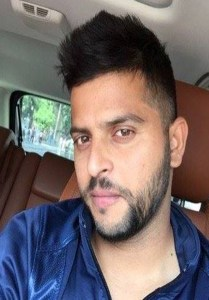 Suresh Raina Short Hairstyle