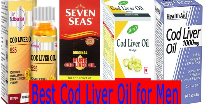Best Cod Liver Oil for Men