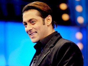 Salman Khan Hairstyle in 10 Ka Dum
