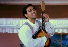 Salman Khan Hairstyle in Hum Aapke hain Koun