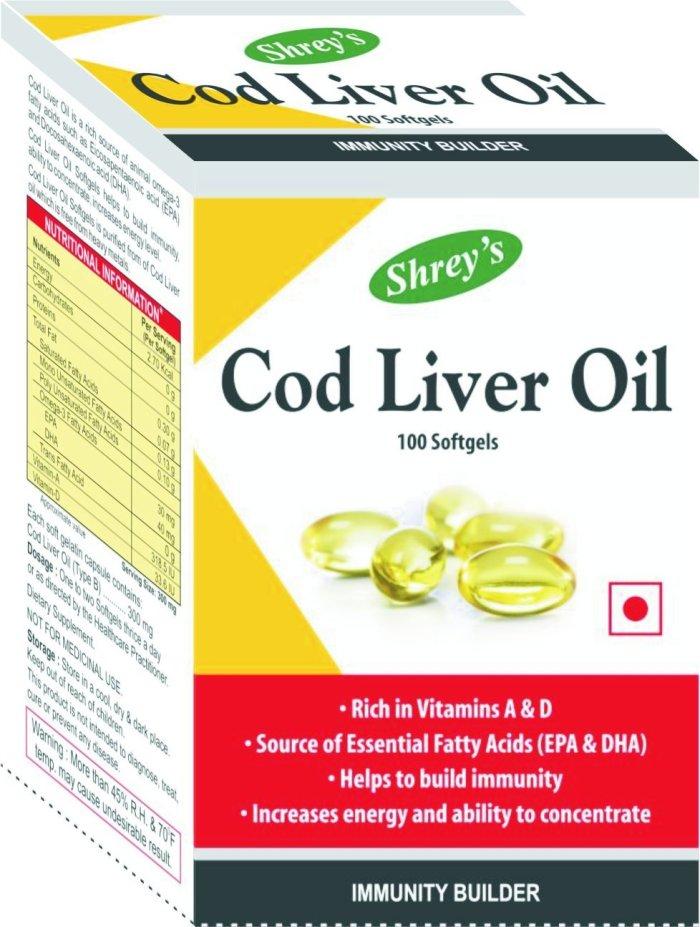 Shrey's Cod Liver Oil