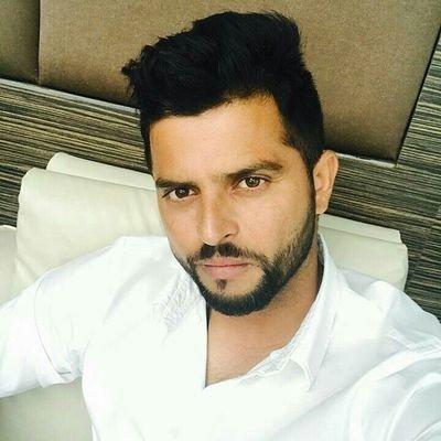 Suresh Raina Hair and Beard Style
