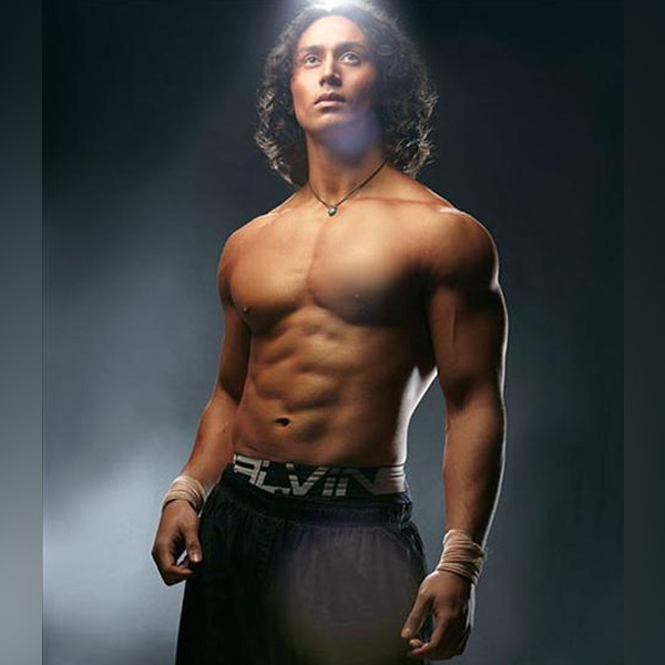 tiger shroff long curl hair