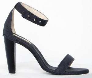 25. DARK SLATE CORK OPEN HEEL | The Acey