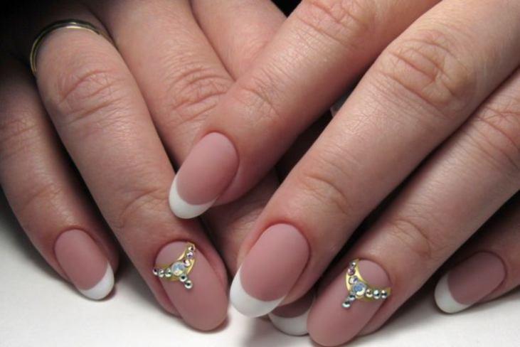 дизайн ногтей фото новинки миндаль 5