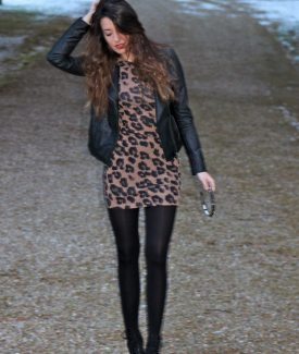 Stalk My Style: Animal Print & Sneaker Wedges