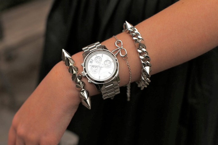 Arm Candy w/ Michael Kors Watch & Spikes