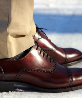 Menswear: The Perfect Pair of Shoes