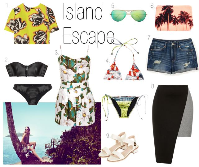 How to dress for an island escape
