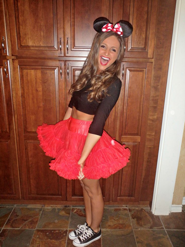 cutest halloween costumes: minnie mouse DIY - Fashion HotBox