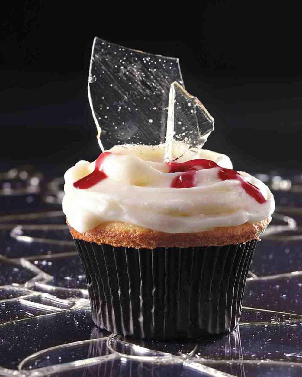 broken glass cupcake halloween treats