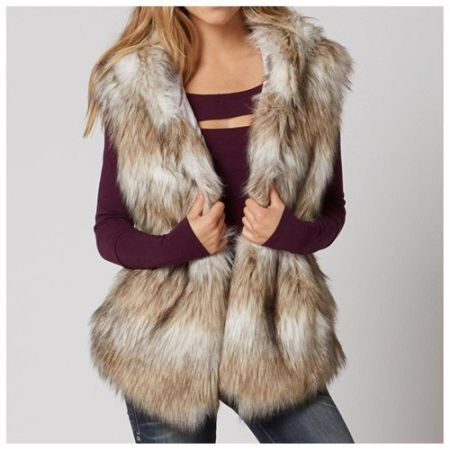 winter must haves fur vest