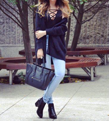 Fall Style: Bodysuit & Skinny Jeans