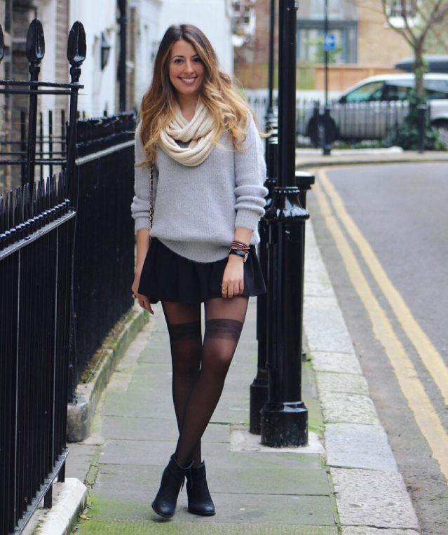 Oversized Sweaters & Wrap Bracelets in London