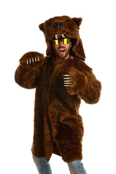 16 Hilarious men's halloween costumes - Bear Coat