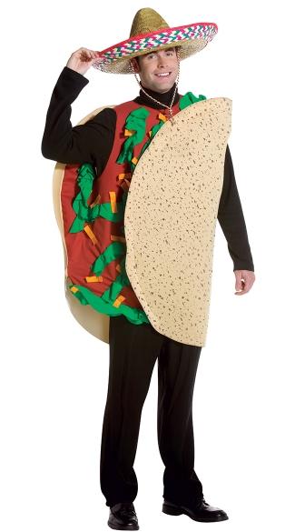 16 Hilarious men's halloween costumes - Taco