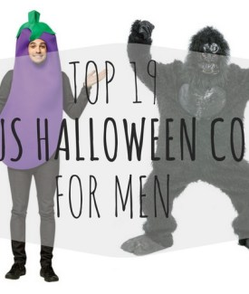 16 Hilarious Men's Halloween Costumes that Don't Completely Suck