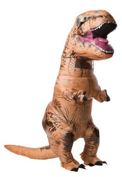 16 Hilarious men's halloween costumes - Inflatable T Rex