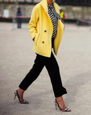 bold colour coat