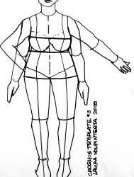 croquis templates template body plus figure sketch fashionillustrationtribe sketches flats female outline pattern croqui form posed sketched ipad volpintesta laura