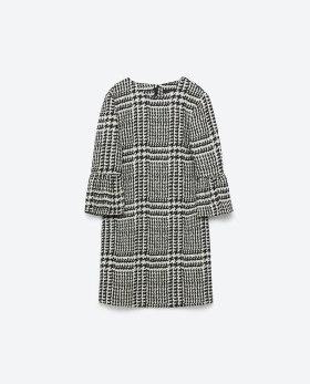 Printed mini dress Zara